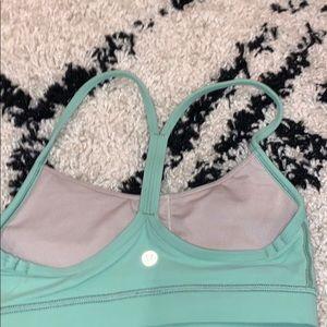 lululemon athletica Intimates & Sleepwear - lululemon sage green sports bra